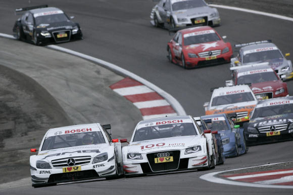 DTM Dijon-Prenois start race