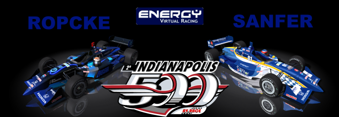 Energy Virtual Racing  500 Milhas de Indianápolis