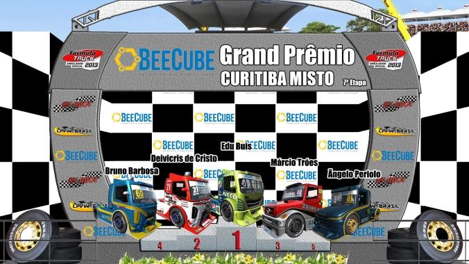 PÓDIO F-Truck AV RACE . LPVW BRASIL etapa 7 curitiba misto-pr