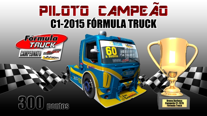 1 Bruno Barbosa piloto campeão