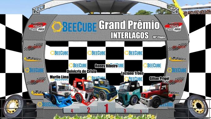 PÓDIO F-Truck AV RACE . LPVW BRASIL etapa 10 interlagos-sp
